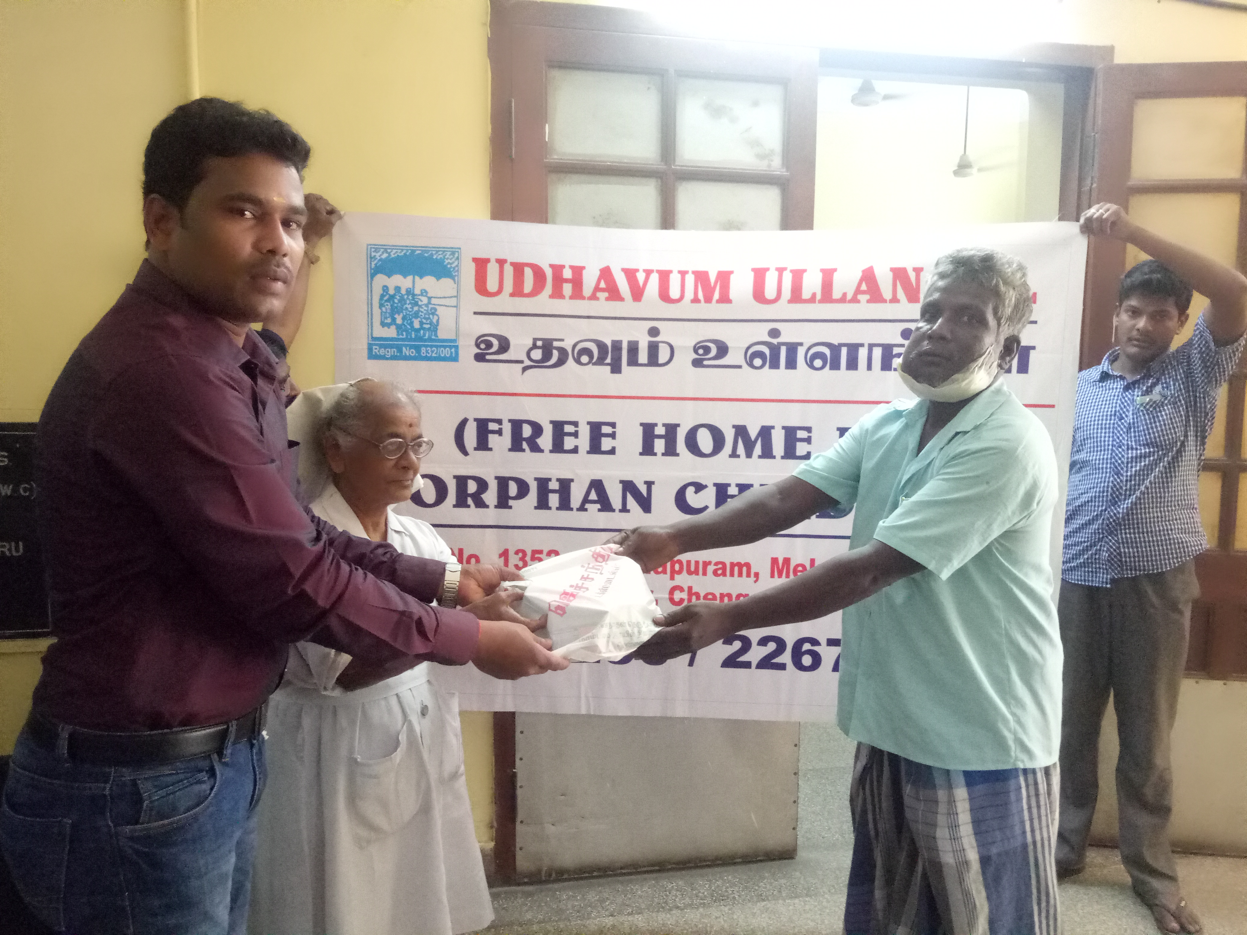 Daily essentials kits were donated to poor cancer patients of Adyar cancer  Institute